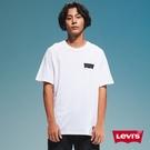 Levis 男款 短袖T恤 / 滑版系列 / 簡約Logo / 白
