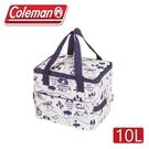 【 Coleman 美國 10L 露營地圖保冷袋】CM-33436/保冰袋/野餐/野外露營