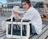 寵物外出包寵物外出包貓籠子泰迪背包狗包貓包便攜手提包透明包貓咪用品