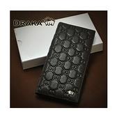【南紡購物中心】【DRAKA達卡】Eight8真皮設計款長夾-直立式11卡