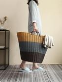 臟衣籃 收納筐臟衣籃家用裝放衣物的籃子臟衣簍洗衣桶婁框收納神器【免運】