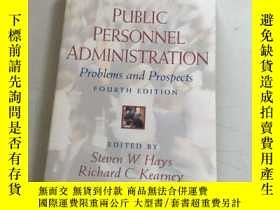 二手書博民逛書店public罕見personnel administration problems and prospects公共