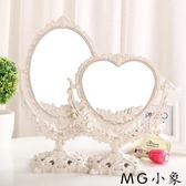 桌鏡化妝鏡 歐式臺式化妝鏡復古鏡