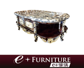 『 e+傢俱 』AT37 海瑞 Hiram 新古典 玉石桌面 雙邊雙抽 開放式置物 大茶几 | 茶几 可訂製