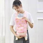 多功能嬰兒背帶前抱式後背式夏季透氣寶寶簡易抱帶新生兒四季通用