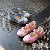 繡花鞋 新品春秋新款女童帆布鞋手工童鞋mc2797『優童屋』