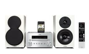 YAMAHA MCR-550小型組合音響系統(白色限定款)