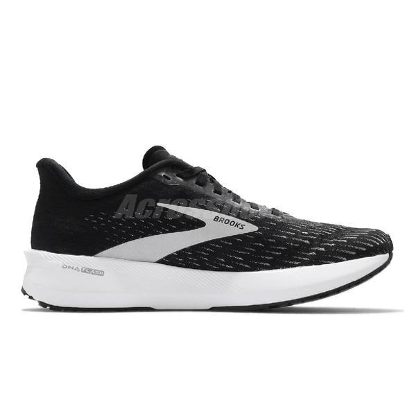 Brooks 慢跑鞋 Hyperion Tempo 黑 白 女鞋 訓練型跑鞋 運動鞋 【ACS】 1203281B091