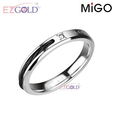 MiGO鋼飾♥約定♥鋼飾戒指(女)