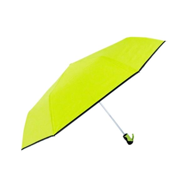 TwinDragon 配色纖維降溫黑膠自動開收傘(1支入) 顏色隨機出貨【小三美日】雨傘/陽傘