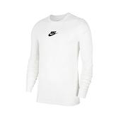 NIKE 長袖T恤 NSW JDI T-Shirt 白 彩 男款 大學T 運動休閒 【ACS】 CU7391-100