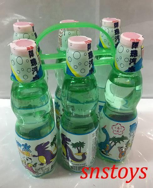 sns 古早味 懷舊零食 彈珠汽水 塑膠瓶裝 30罐(整箱) 量販價510元(市價1罐25元)