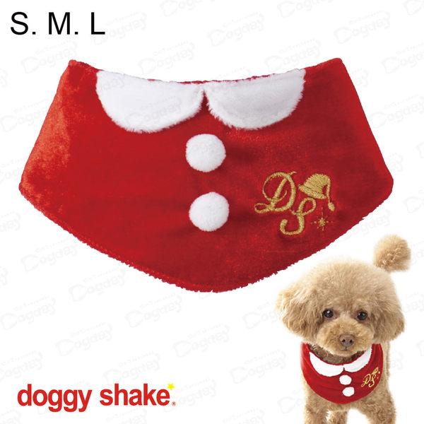 日本《Doggy Shake》聖誕快樂領圍 S/M/L 狗衣服 冬衣 聖誕節變裝