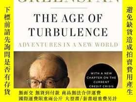 二手書博民逛書店The罕見Age Of Turbulence-動蕩的 Y436638 Alan Greenspan Pengu