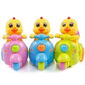 發光玩具燈光寶寶公雞車女孩嬰兒童電動萬向帶音樂爬行 6-12個月·享家生活館