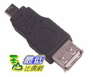 [玉山最低比價網] 攜帶式 USB母接頭 轉 5Pin mini USB 公接頭 轉接頭 轉換頭(12503_E26)