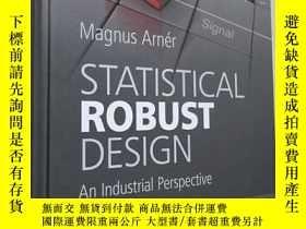 二手書博民逛書店Statistical罕見Robust Design: An I
