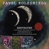【停看聽音響唱片】【CD】貝多芬:(月光)奏鳴曲 柯列斯尼可夫 鋼琴