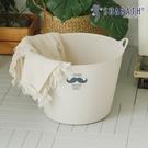 洗衣籃 收納籃 置物籃 玩具箱【G0076】韓國shabath 俏鬍子洗衣籃 韓國製 收納專科