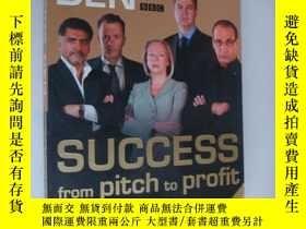 二手書博民逛書店DRAGON S罕見DEN :SUCCESS FROM PITC