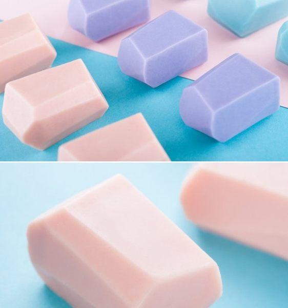 心動小羊^^DIY手工皂工具矽膠模具肥皂香皂模型矽膠皂模藝術皂模具蜜蜂蜂巢蜂蜜皂(立體單孔)