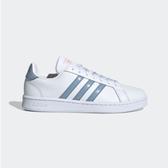 Adidas GRAND COURT 女款藍白色休閒運動鞋-NO.FW2686