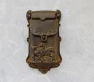 歐式鑄鐵工藝品復古做舊鑄鐵小信箱郵箱信報...