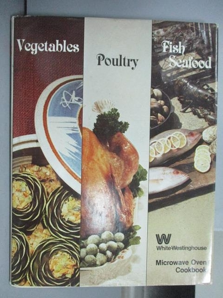 【書寶二手書T3/餐飲_PMY】Vegetable、Poultry、Fish Seafood