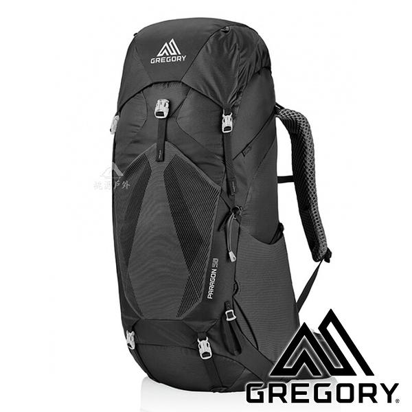 【美國 GREGORY】PARAGON登山背包 58L『2917玄武黑』G126845 登山|露營|旅遊|後背包
