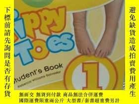 二手書博民逛書店學生英文練習書罕見Tippy Toes 課外閱讀書 兒童手工塗色
