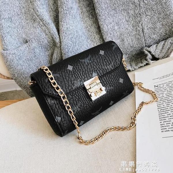 女包包2020新款歐美錬條時尚百搭迷你女包單肩包斜挎包手拿包【果果新品】