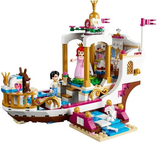 樂高LEGO DISNEY PRINCESS 小美人魚 愛麗兒的皇家慶典船 41153 TOYeGO 玩具e哥