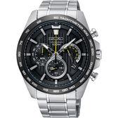 【分期0利率】SEIKO 精工錶 三眼計時錶 8T63-00G0D 43mm 原廠公司貨 SSB303P1