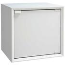 【藝匠】魔術方塊白色大木門櫃收納櫃 家具 組合櫃 廚具 收藏 置物櫃 櫃子 小櫃子