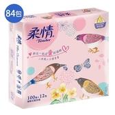 柔情抽取衛生紙100抽84包-童心森林版(箱)【愛買】