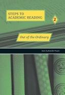 二手書博民逛書店《Out of the Ordinary: Refining Academic Reading Skills》 R2Y ISBN:0155060333