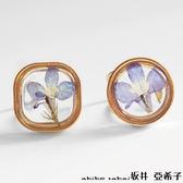 『坂井.亞希子』立體透明精緻氣質花朵開口戒