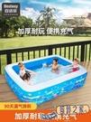 充氣泳池 兒童游泳池家用寶寶泳池可折疊小...