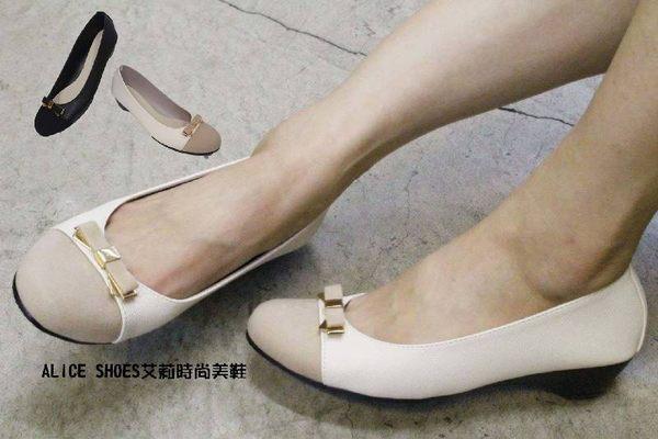 ALICE SHOES艾莉時尚美鞋 請把握!!搶鮮擁有低跟包鞋3cm以下@A1668@MIT台灣製造