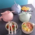 尺寸超過45公分請下宅配學生宿舍泡面碗神器帶蓋小麥碗餐具碗便當