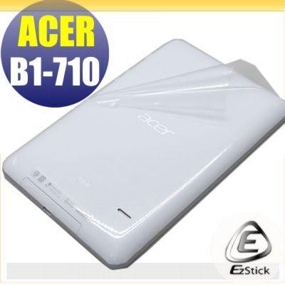 【EZstick】ACER iconia B1-711 B1-710 系列專用 二代透氣機身保護貼(平板機身背貼)DIY 包膜