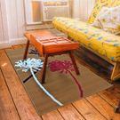范登伯格-維多利亞 低調時尚地毯-花朵-60x110cm