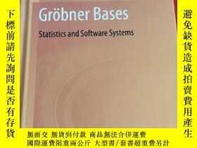 二手書博民逛書店Grobner罕見Bases statistics and software systems (小16開,硬精裝)