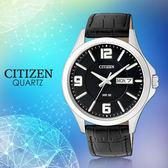 CASIO 手錶專賣店   CITIZEN星辰_BF2001-04E_石英錶_日 期/星期_皮革_男錶