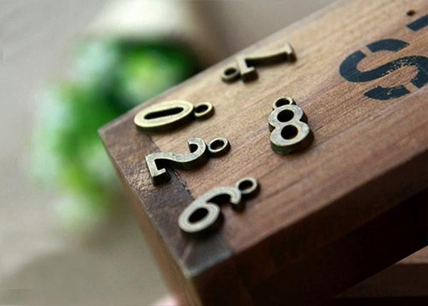 數字 吊墜 項鏈 手鍊 腳鍊 手作 DIY 吊牌 包包掛飾 手機吊飾 鑰匙圈吊飾 車牌號碼 英文字母 4095