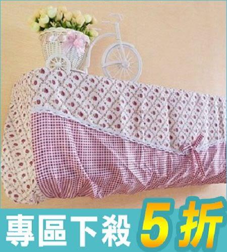 全包式蕾絲分離式冷氣防塵罩  隨機出貨不挑款【AE04157】i-Style居家生活