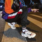 2019韓版男士純色半高領保暖加絨毛衣潮流日系寬鬆加厚針織衫外套