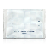 ALBION 艾倫比亞 EXTRA FACIAL COTTON 化妝棉-新包裝 (2枚入) 【橘子水美妝】