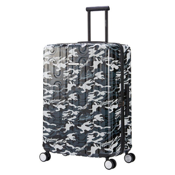 【CENTURION百夫長】拉鍊款26吋U_C93拉瓜地亞外交官行李箱