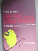 【書寶二手書T7/原文小說_HH8】The Ape and the Sushi Master_Frans B. M. Waal
